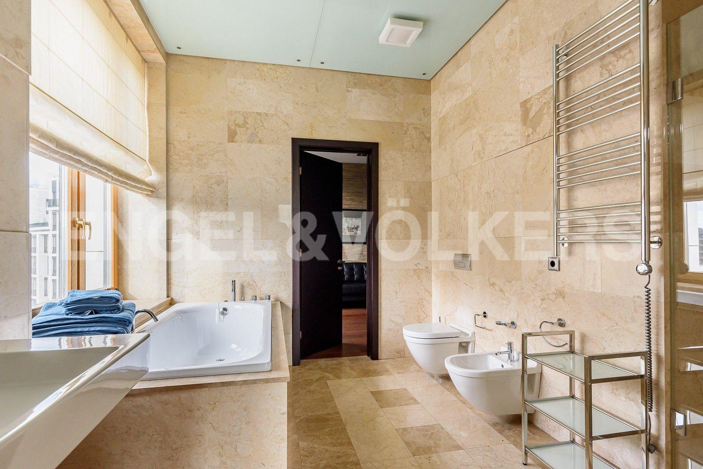 Элитные квартиры на . Санкт-Петербург, наб. Мартынова, 74. Ванная комната
