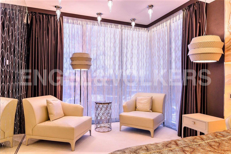 Панорамное остекление в спальне
