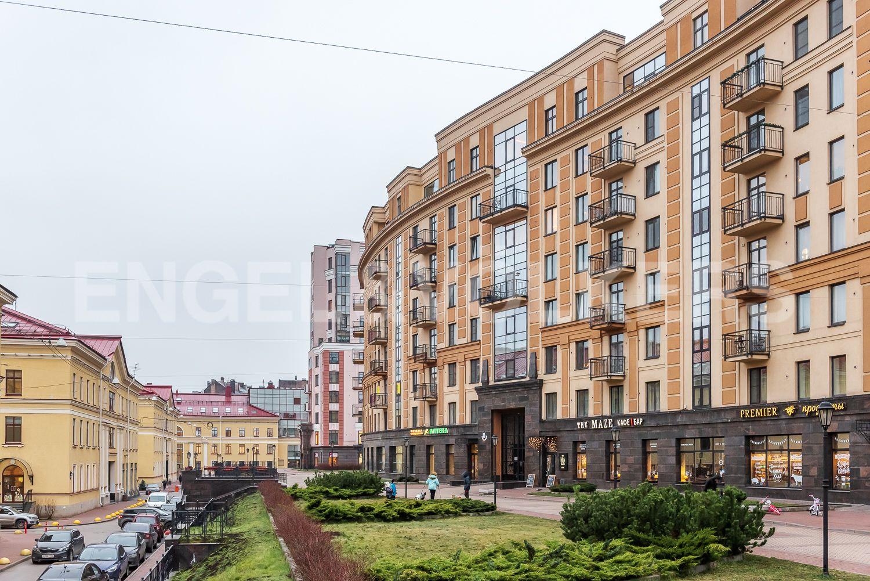 Элитные квартиры в Центральном районе. Санкт-Петербург, ул. Парадная, д. 3, к. 2. Вид фасада