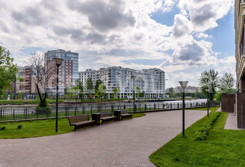 Элитные квартиры на . Санкт-Петербург, ул.Спортивная, д.2, строение 1. Внутренний двор