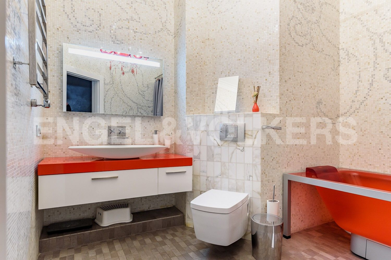 Элитные квартиры на . Санкт-Петербург, наб. Мартынова, 74Б. Ванная комната