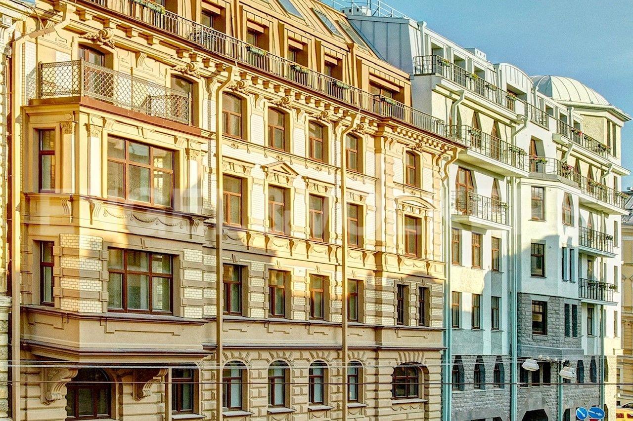 Элитные квартиры в Центральном районе. Санкт-Петербург, Стремянная ул., д.15.