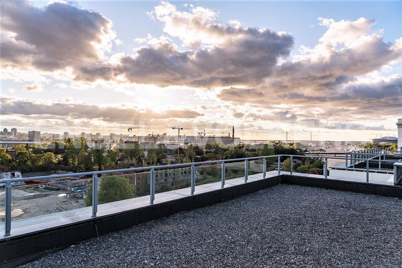 Вид с террасы на акваторию Финского залива