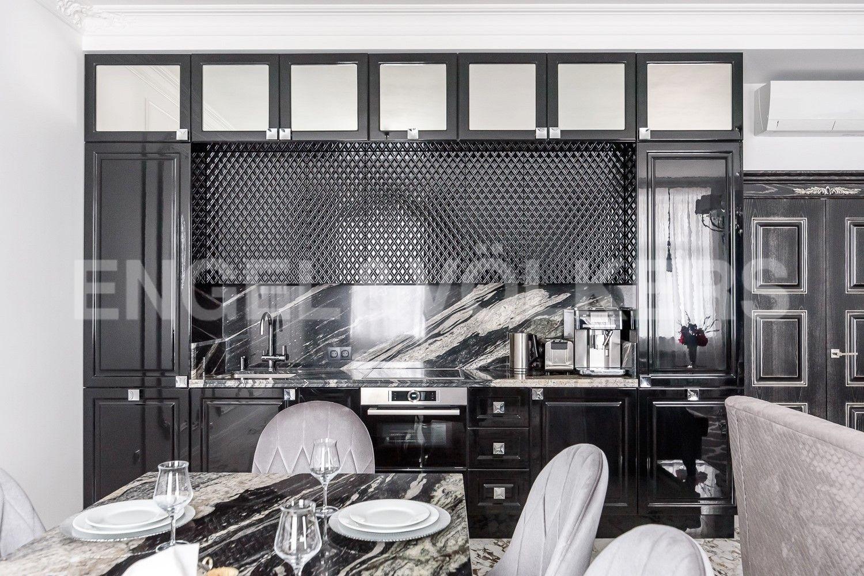 Элитные квартиры в Петроградском районе. Санкт-Петербург, Аптекарская наб., 6. Зона приготовления
