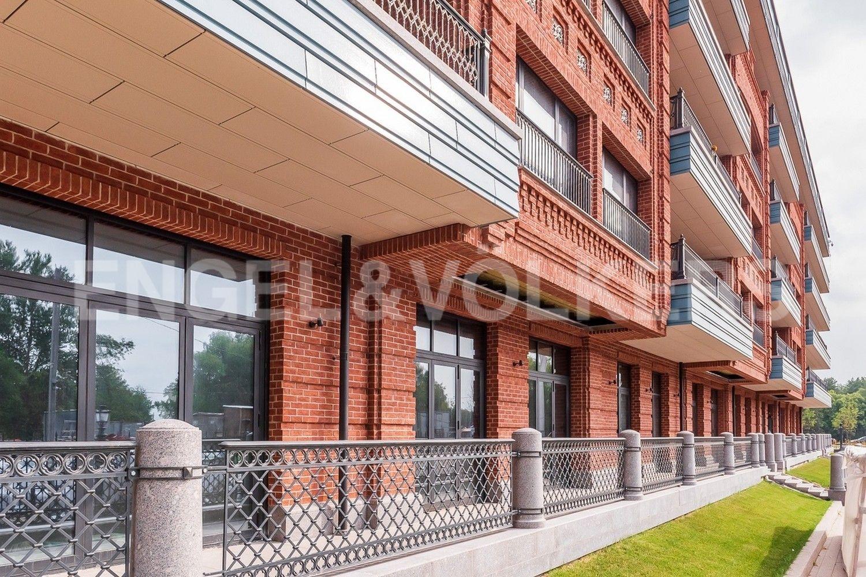 Элитные квартиры на . Санкт-Петербург, наб. Гребного канала, д. 1. Терраса Корпус 1