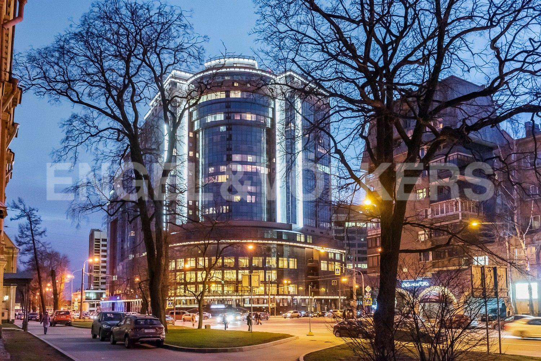 Элитные квартиры в Центральном районе. Санкт-Петербург, Большой Сампсониевский пр. 4-6. ЖК Mont Blanc