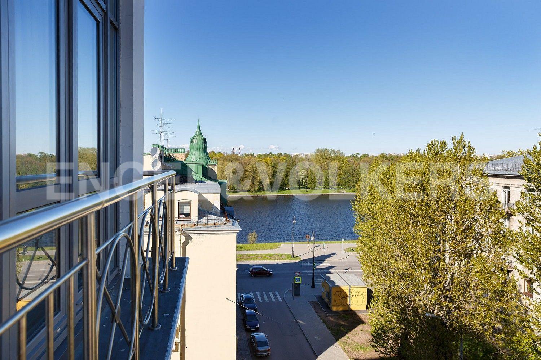 Элитные квартиры на . Санкт-Петербург, Динамовская ул. д.2 . Панорамный вид
