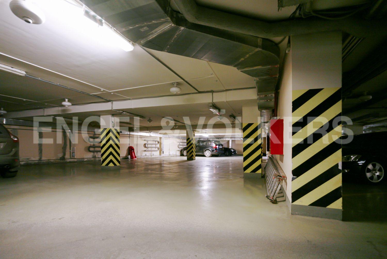 Подземный паркинг дома