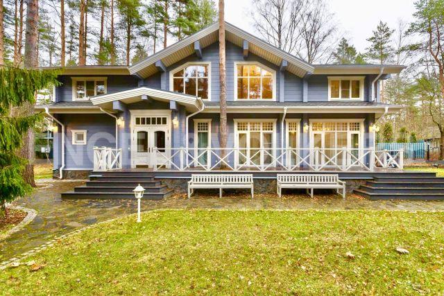 п. Комарово – приватная загородная резиденция в гармонии с природой