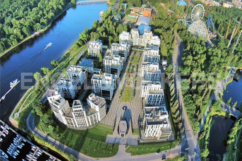 Элитные квартиры на . Санкт-Петербург, наб. Мартынова, 74. Месторасположение