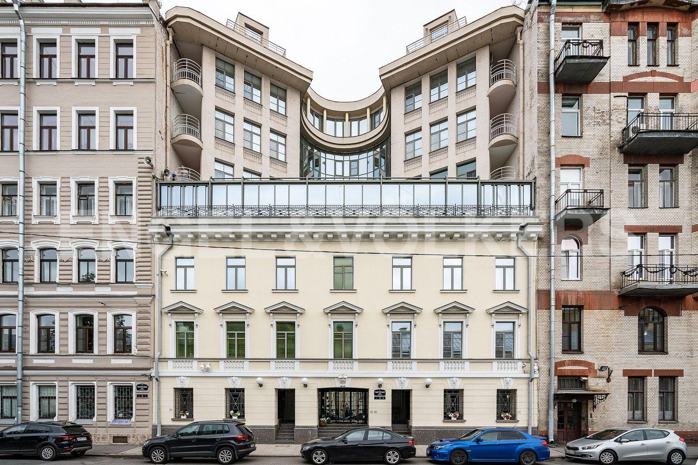 Элитные квартиры в Центральном районе. Санкт-Петербург, ул.Гангутская, 8. Фасад