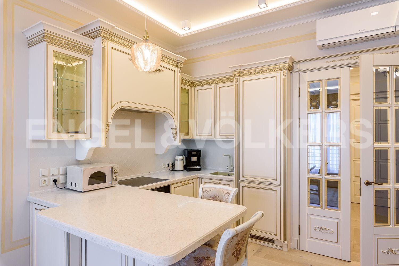 Элитные квартиры на . Санкт-Петербург, ул.Спортивная, д.2. Кухня