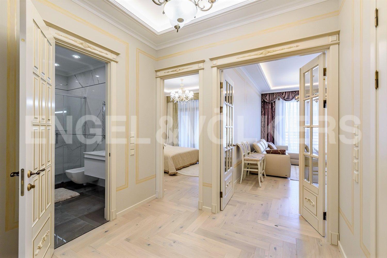 Элитные квартиры на . Санкт-Петербург, ул.Спортивная, д.2. Холл