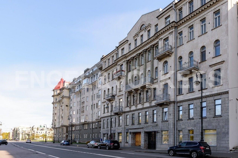 Элитные квартиры на . Санкт-Петербург, Мартынова наб.,6. Фасад