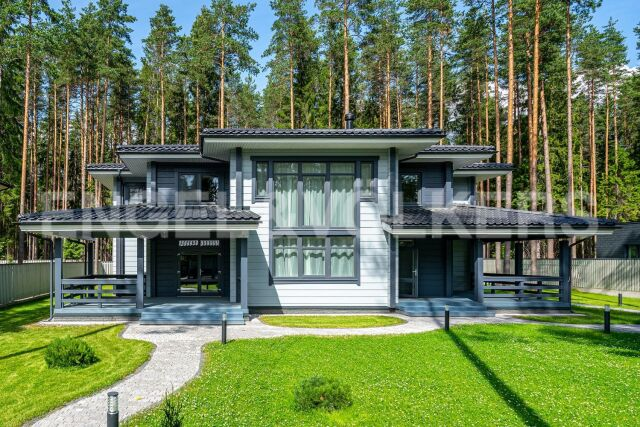 п. Комарово – стильные интерьеры в закрытом поселке