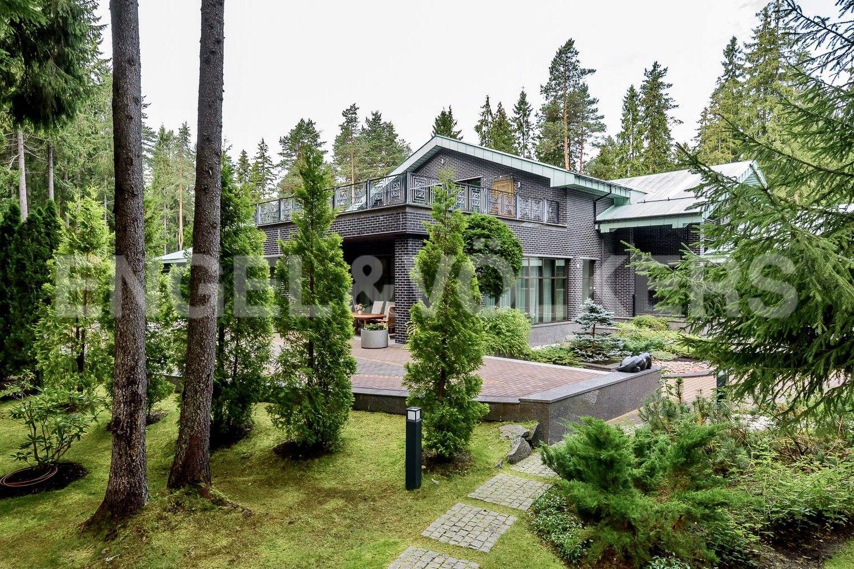 Вид на резиденцию