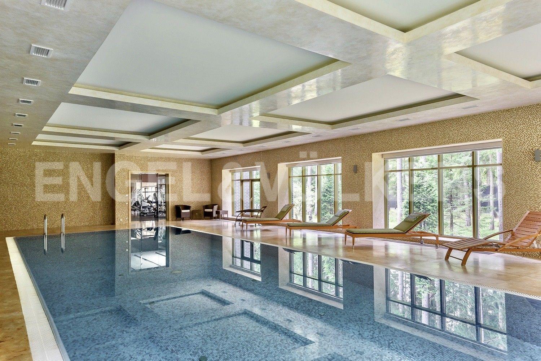 SPA-комплекс с 15-и метровым бассейном