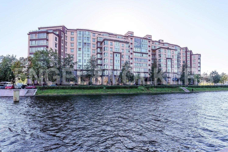 Элитные квартиры в Петроградском районе. Санкт-Петербург, Петровский пр.,5. Фасад