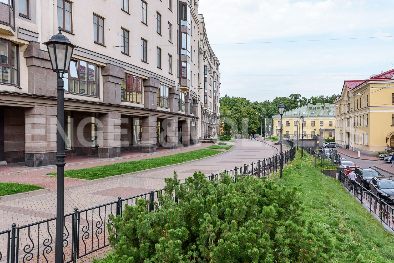 Элитные квартиры в Центральном районе. Санкт-Петербург, Парадная ул., д. 3, к. 2. Территория комплекса