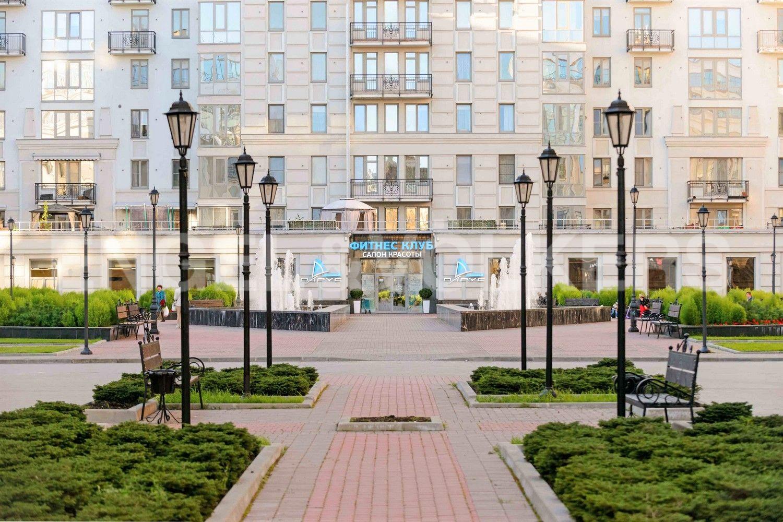 Элитные квартиры в Центральном районе. Санкт-Петербург, Парадная ул., д. 3, к. 2. Фитнес клуб Парус на территории комплекса