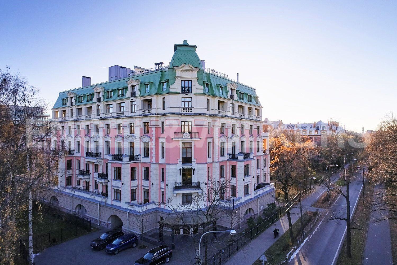 Элитные квартиры на . Санкт-Петербург, пр. Динамо, 12. Фасад