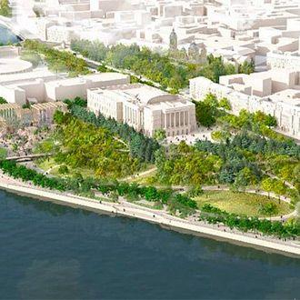 «Тучков буян»: новый парк от «Студии 44» и West 8