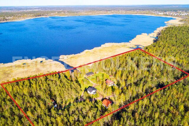 оз. Б. Кирилловское – приватный участок 1,28 Га на берегу озера в окружении хвойного леса