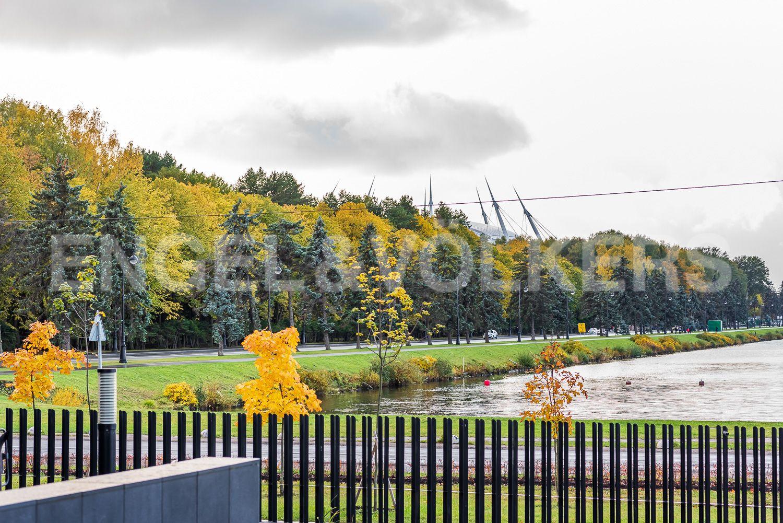 Элитные квартиры на . Санкт-Петербург, наб. Мартынова, 74. Перспектива Гребного канала