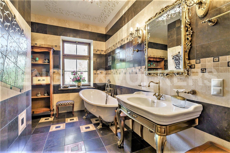 Ванная комната при мастер спальне