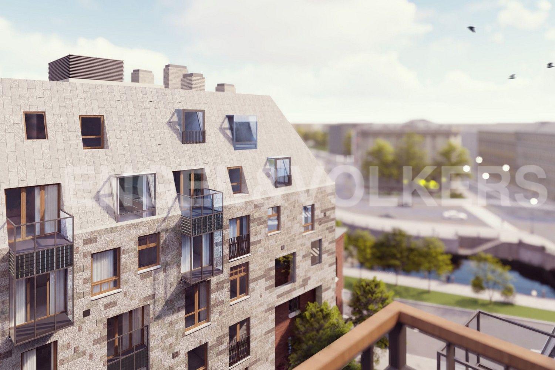 Эскиз фасадных окон