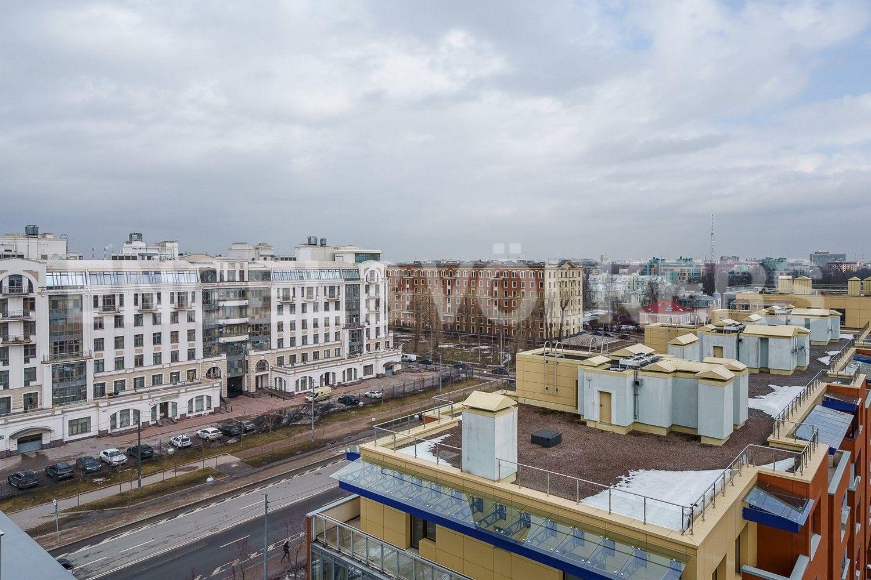 Элитные квартиры на . Санкт-Петербург, ул.Рюхина д.10. Вид из спальни