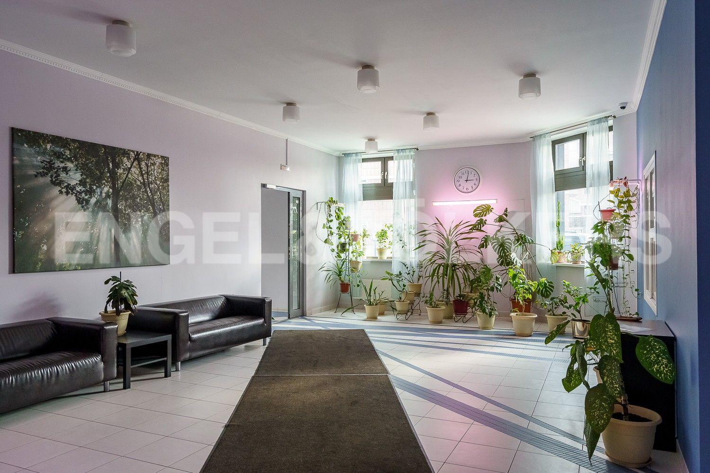Элитные квартиры на . Санкт-Петербург, ул.Рюхина д.10. Входная зона